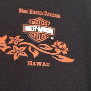 Harley-Davidson Tops - Harley Davidson Maui Hawaii Hibiscus Long Sleeve